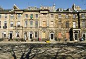 Townhouses on Charlotte Square in Edinburgh, Scotland — Stock Photo