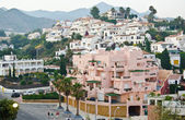 Beautiful Mediterranean town of Nerja in Andalusia, Spain — Stock Photo