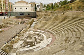 Roman Theatre in Malaga, Spain — Stock Photo