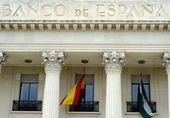Bank of Spain building in Malaga, Spain — Stock Photo