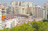 Cityscape of Malaga, Spain — Stock Photo