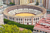 Plaza de Toros de Ronda bullring in Malaga, Spain — Stock Photo