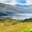 Stock Photo: Loch Lomond, Scotland from Ben Lomond summit route