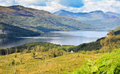 Loch Lomond, Scotland from the Ben Lomond summit route — Stock Photo