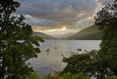 Loch Long in the Scottish Highlands — Stock Photo
