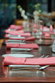 Restaurant serving — Stockfoto