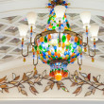 Beautiful chandelier — Stock Photo #13639123