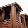Luxury wooden house — ストック写真