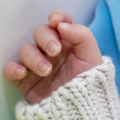 Royalty-Free Stock Photo: Baby hand