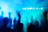 Bailando al ritmo de discoteca. — Foto de Stock