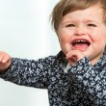Toddler crying. — Stock Photo