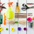 Royalty-Free Stock Photo: Gardening and florist tools.