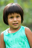 Cute native american girl. — Stock Photo