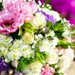 Detail of flower bouquet. — Stock Photo