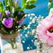 Stock Photo: Wedding flower bouquets.