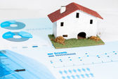 Real estate industry analysis. — Stock Photo