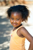 African youngster outdoors. — Stock Photo