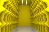 Abstract yellow wall — Stock Photo