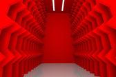 抽象的な赤い壁 — Stock fotografie