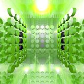 Groene digitale kamer — Stockfoto