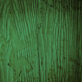 Old green wood texture — Stock Photo