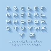Alphabet design — Stockvector