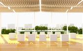 Office interior modern — Stockfoto