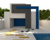 Exterior home — ストック写真