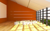 Office interior modern — Stock fotografie