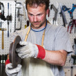 Metal worker — Stock Photo