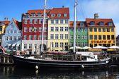 Nyhavn in Copenhagen, Denmark — Stock Photo