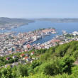 Bergen city, Norway — Stock Photo