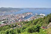 Bergen city, Norway — Stock Photo