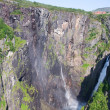 Stock Photo: Voringfossen waterfall in Norway