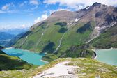 Landscape of dam in Austria — Stock Photo