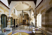SAIDA, LEBANON - JUNE 27: interior of 17th century Debbane Palac — Stock Photo
