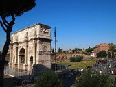 Arch of Constantine in Rome — Stock Photo