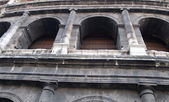 Rome, detail of the coliseum — Stock Photo