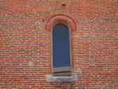 Fenster mit bogen — Stockfoto