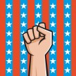 Royalty-Free Stock Vector Image: American Fist