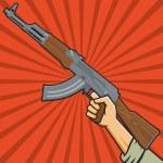 Постер, плакат: Soviet Assault Rifle