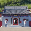 The Long Shou Shan Guan Di Miao Temple Portal — Stock Photo #12768877