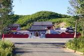 The Long Shou Shan Guan Di Miao Temple (Heihe) — Стоковое фото