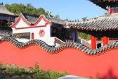 The Long Shou Shan Guan Di Miao Temple (west side view) — Stock Photo