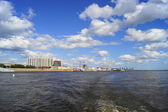 Town of Blagoveshchensk on Amur River — Stock Photo