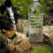 Bottle with water — Stock Photo