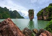 Island Thailand James bond — Stock Photo
