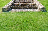 Stone stairs in the park — Stock Photo