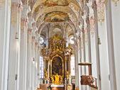 Interior of church in Munich, Germany — Stock Photo