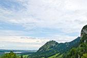 山和天空 — 图库照片